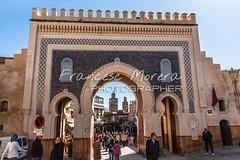 Bab Bou Jeloud. Fez Medina (FM Photographer) Tags: africa fez medina marroc babboujeloud feselbali puertadoor puertagate