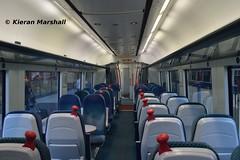 3303 interior, Connolly, 14/11/15 (hurricanemk1c) Tags: dublin irish train interior rail railway trains enterprise railways caf irishrail 3003 nir 2015 connolly iarnród 3303 éireann northernirelandrailways iarnródéireann class3000 c3k 1100connollybelfastcentral