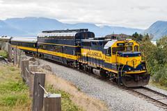 Trailing Geep (sullivan1985) Tags: trip alaska ak september turnagainarm thefinalfrontier passengertrain 2015 emd gp402 electromotive glacierdiscovery