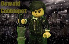 Custom Lego Gotham Penguin (BatBrickz Customs) Tags: