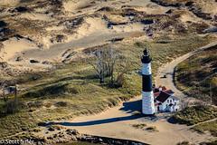 Big Sable Point Lighthouse (Scott Sitler) Tags: statepark park lighthouse airplane michigan dunes flight ludington bigsablepoint