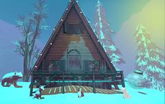 Christmas Time!!! (Gabriella Karillion (The Gift Of Gab)Just Darling!) Tags: christmas blog cosmopolitan blogger goose sl secondlife hive jian unkindness lauraliberty kalopsia christmastown2015
