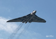 Vulcan XH558 (John Gilham Photography) Tags: sky cold war aircraft wing royal delta trust vulcan airforce bomber avro aricraft xh558 johngilhamphotography