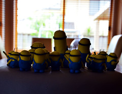 Minions II - my wife's creation (Makro1) Tags: blue food yellow cake dessert nikon decoration birthdaycake torta minions cartooncharacters cakedecoration hrana zuto plavo ukrasi d7000 nikon18105mmf3556vr nikond7000 rodjendanskatorta