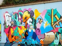 Street Art in Dsseldorf-Eller (bjoernh1711) Tags: streetart germany deutschland graffiti nrw dusseldorf dsseldorf allemagne duesseldorf nordrheinwestfalen eller northrhinewestphalia