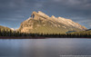 The Iconic Mount Rundle (westrock-bob) Tags: park sunset summer copyright mountain lake canada mountains reflection tourism nature canon outdoors eos town nationalpark ab resort alberta destination banff iconic stillness mountrundle settingsun banffnationalpark 6d vermilionlake albertatourism canon6d canoneos6d bobcuthillphotographygmailcom firstvermilionlake bobcuthill