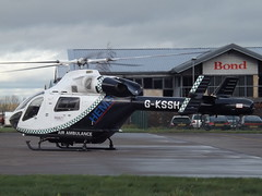 G-KSSH Explorer MD900 Helicopter (Aircaft @ Gloucestershire Airport By James) Tags: james airport explorer gloucestershire helicopter lloyds md900 egbj gkssh