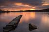 Loch Ard Sunrise (davidballantyne2) Tags: lochard aberfoyle longexposure leefilters nikond7000 scotland littlestopper sunrise