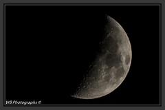 Foto_opdracht_17_v_30_Maan (wibra53) Tags: 2016 heelal maan moon nacht nachtopname night nightshot solarsystem universum zonnestelsel