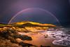 Malibu Fine Art Rainbow Sunset Seascape!  45Epic Dr. Elliot McGucken Fine Landscape and Nature Photography (45SURF Hero's Odyssey Mythology Landscapes & Godde) Tags: 45epic dr elliot mcgucken fine landscape nature photography malibu art rainbow unset seascape