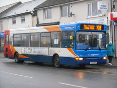 Stagecoach in South Wales 34770 (Welsh Bus 16) Tags: stagecoach southwales dennis dart slf 34770 px55efc risca