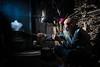 Checking Dinner with a Smoke (Jim.J.H) Tags: xingping china cormorantfisherman