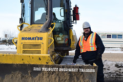 Michel B (High Velocity Equipment Training) Tags: hvet highvelocityequipmenttraining camrose equipment heavyequipment heavyequipmentoperators operators equipmentoperator komatsu dozer bulldozer smsequipment safety student construction pipeline training reflective safetyequipment heavymachinery