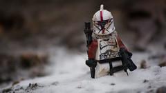 Snow (Eflow Guy) Tags: starwars legostarwars lego legoguys clone brickarms gibrick