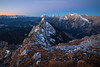 Before Sunrise (wende60) Tags: mountains alps dawn twilight pink sky clearity outdoor cold december hike