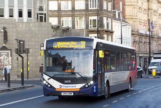 10986. Busways SN66WMM. Newcastle, 2017.
