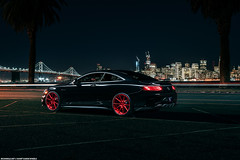 Mercedes Benz S63 AMG Coupe for Avant Garde Wheels (Richard.Le) Tags: mercedes benz s63 amg coupe san francisco bay area city night life light painting commercial automotive photography photo image richard le ag wheels avant garde westcott ice flick transportation flickr