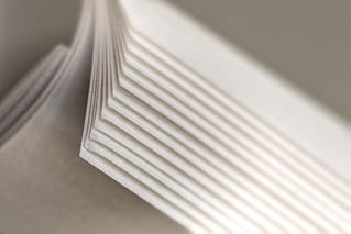 Just white paper