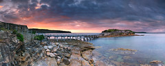 La Perouse Sunrise Panorama | Sydney, Asustralia (-yury-) Tags: laperouse bareisland sydney nsw australia sunrise
