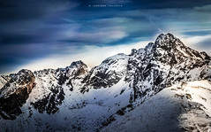 greatness (Seamni_sun) Tags: mountain range peak nature tatras poland panorama winter snow hiking alpinism sky blue air beautiful background outdoor landscape