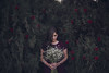 Her love. (Bhumika.B) Tags: bride roses wild wedding india wonderland winter bhumikabhatia flowers white innocent dark feel art she dream delicate daughter dress fragile girl gentle hair hand heart love lavender longhair innocence ifyouleave intense inspire red romance ray emotions wall