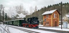 Preßnitztalbahn (Körnchen59) Tags: presnitztalbahn schmalspurbahn erzgebirge dampflok steamlocomotive steinbach sachsen körnchen59 elke körner pentax k7