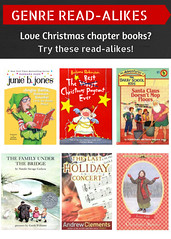 Read-Alikes for Christmas Chapter Books 12/22/16 (plano.library) Tags: christmas readalikes books haggard parr schimelpfenig harrington davis library libraries planopubliclibrarysystem ppls plano tx