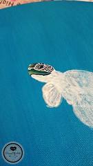 Schildkröte1 (Sandys.PiecesOfArt.) Tags: schildkröte malen gemalt gezeichnet zeichnen drawing turtle undersea blue green animal acryl acrylic canvas auf leinwand acrylmalerei malerei sandyspiecesofart sandys piecesofart