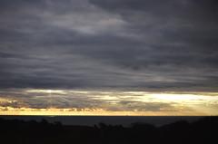 Sacred (Trang |C-Cat|) Tags: beachyhead uk england eastbourne eastsussex unitedkingdom nikon sunset sunlight clouds horizon ocean coast cliff twilight d3300 moment