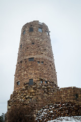 The Watchtower (ptpkrause) Tags: arizona family grandcanyon hiking nationalpark travel trip vacation winter