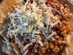 Baked Beans on Toast (arrancat) Tags: beans baked tomato sauce food white background isolated heinz bean can bowl tin canned meal dish red healthy texture vegetable orange nutrition snack lunch fiber portion closeup diet vegetarian tinned