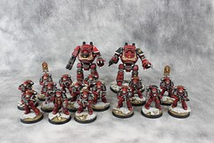 WB Contemptor 11 (Celsork) Tags: word bearers wrhammer 30k legion chaos spacemarine legionary horus heresy contemptor dreadnought walker games workshop