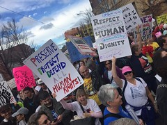 ATL Womens March (moke076) Tags: womens march atlanta georgia ga south southern city political politics democracy civil protest public posters street demonstration iphone cell cellphone mobile 2017 humanrights respect candid