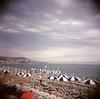 rBeach Umbrellas (limrodrigues) Tags: nicefrance holga film portra400 color mediumformat 6x6