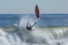 Surfing at Asbury Park (Erin Cadigan Photography) Tags: asburypark beach board boardwalk break breakers coastal daylight daytime famous horizontal jerseyshore landmark newjersey nj ocean old outdoors radical sea sport sunny wet