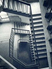 Keep going.Every steps may get harder but don't stop.The view is beautiful from the top. (Sheikh Zahed) Tags: stairs blackandwhite bw mobilephotography chittagon ctgphotography canon mobilephotographer mobile samsung s7aged bangladesh dhaka kolkata building mumbai streetphotography creative szphotogram