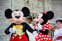DSC_0094_WS (SureAsLiz) Tags: disney disneyworld waltdisneyworld wdw magickingdom magickingdomwelcomeshow letthemagicbegin mickeymouse mickey cinderella castle
