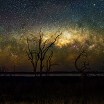 Milky Way Setting Below the Horizon thumbnail