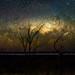 Milky Way Setting Below the Horizon
