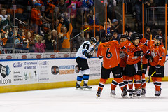 "Missouri Mavericks vs. Wichita Thunder, February 3, 2017, Silverstein Eye Centers Arena, Independence, Missouri.  Photo: John Howe / Howe Creative Photography • <a style=""font-size:0.8em;"" href=""http://www.flickr.com/photos/134016632@N02/32561321642/"" target=""_blank"">View on Flickr</a>"