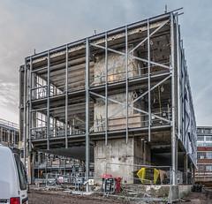 Fison's rebuild in progress Dec 2015. (Gordon Haws) Tags: harvesthouse fisons princesstreet modernism steelframe redevlopment urbanrenewal pdr pdrconstruction