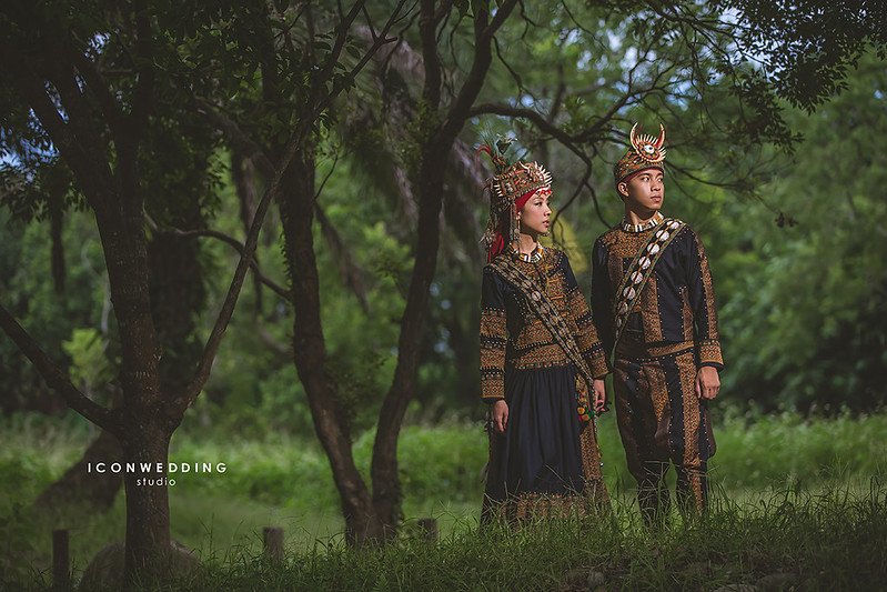 新娘造型,桃園大溪Dear婚紗基地,拍婚紗,婚紗攝影,原住民