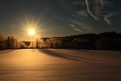 Morning Sun_2017_02_26_0002 (FarmerJohnn) Tags: sun rise sunrise snow lumikenttä auringonnousu taivas sky morning aamutaivas taivaanranta pilvet clouds colors colorfull värikäs taivi winter february helmikuu suomi finland laukaa valkola anttospohja canon7d canonef163528liiusm canon 7d juhanianttonen