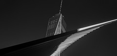 The One (rudie_y) Tags: onefreedomtower nyc newyorkcity bw monochrome