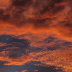 Sky Clouds Turned into Bright Color thumbnail