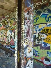 sgs1 (daily observer) Tags: springgardenstation readingviaduct abandoned abandonedrailroad abandonedphiladelphia philadelphia graffiti philadelphiagraffiti
