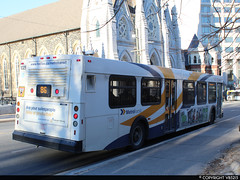 Metro Transit #1025 (vb5215's Transportation Gallery) Tags: metro transit halifax 2002 new flyer d40lf