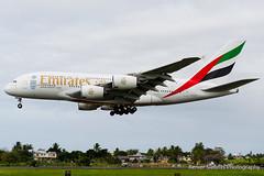 A6-EES, Emirates Airlines, Sir Seewoosagur Ramgoolam International Airport, Mauritius (Renier Siebrits) Tags: island dubai emirates airbus a380 mauritius airlines emiratesairlines superjumbo sirseewoosagurramgoolaminternationalairport a6ees