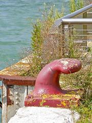 Mooring (dwgibb) Tags: bridge lighthouse canada boat michigan detroit casino greatlakes windsor ceasars detroitriver riverwalk freighter rencen ambassadorbridge gmbuilding millikenstatepark