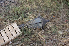 Lampe (Benny Hnersen) Tags: holiday broken lamp lampe greece griechenland ferie sivota syvota 2015 augsut grkenland